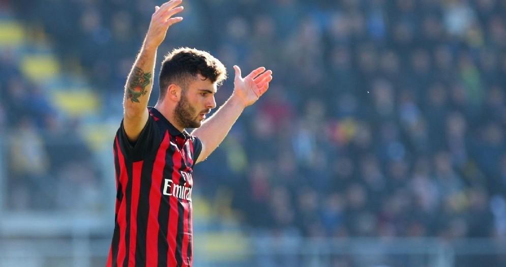 Patrick Cutrone, attaccante del Milan