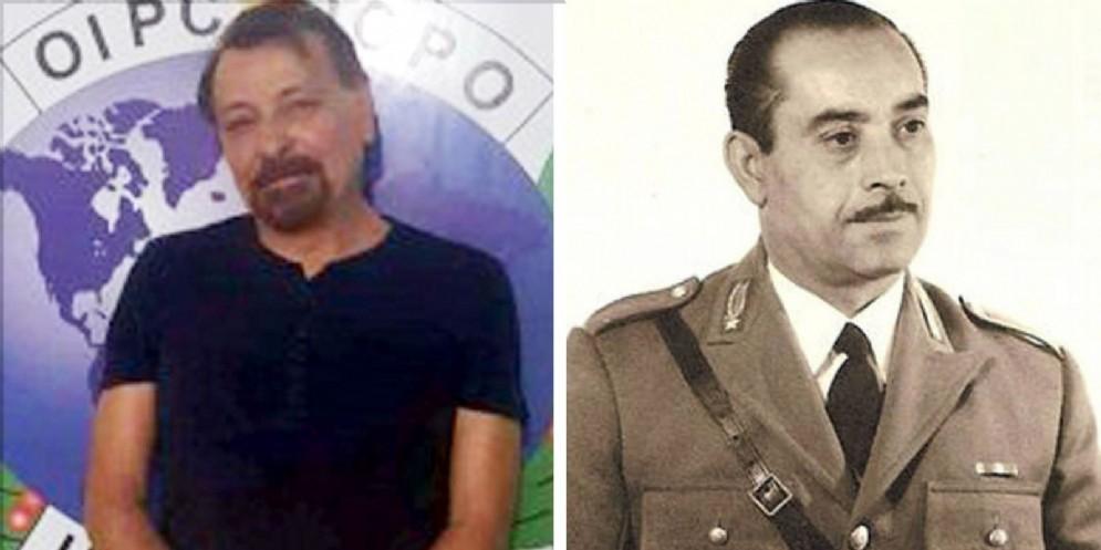 Cesare Battisti e il maresciallo Giuseppe Santoro