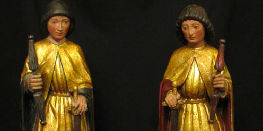 La comunità di Illegio ha di nuove le due statue rubate nel 1968
