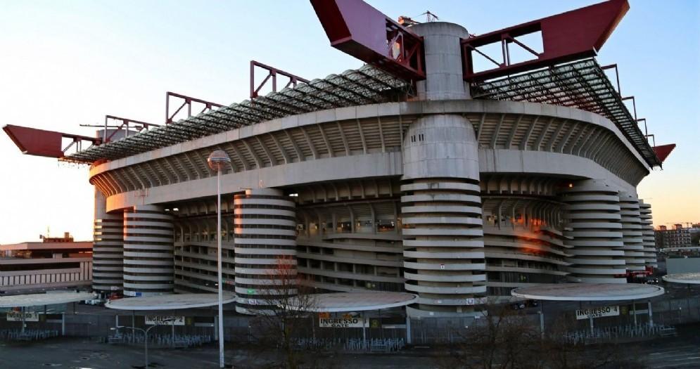 Il glorioso stadio  San Siro
