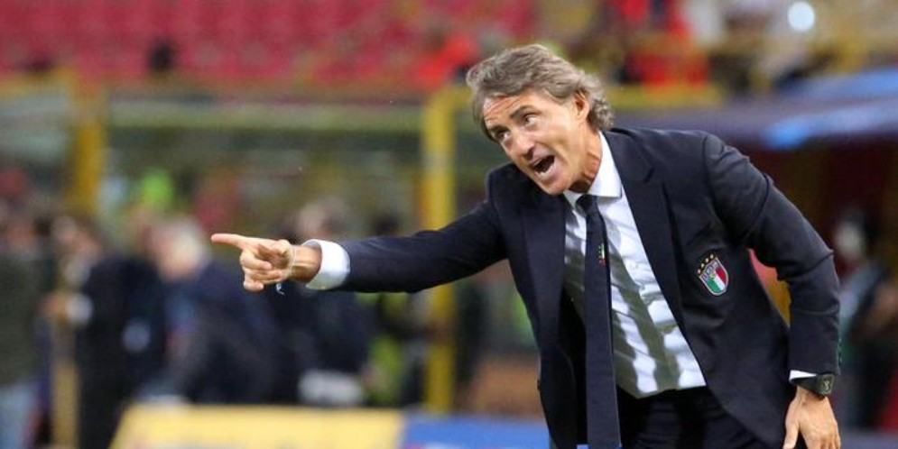 Il ct della nazionale, Roberto Mancini