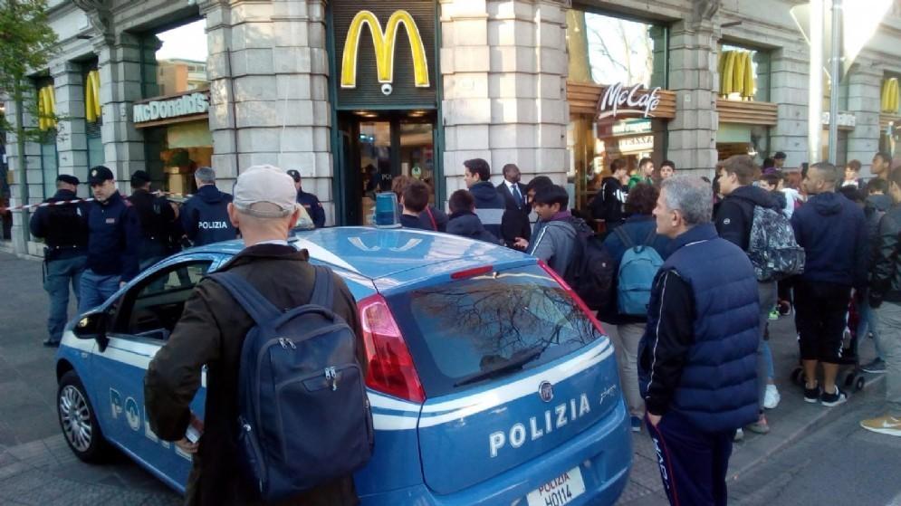 Borgo Stazione passata al setaccio: decine di agenti per le strade