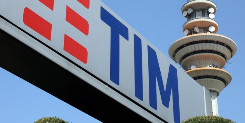 Il logo di TIM