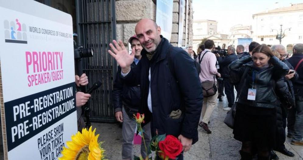 Massimo Gandolfini, leader del Family day