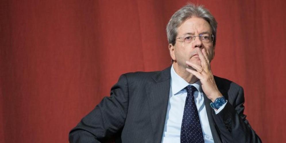 L'ex Premier, Paolo Gentiloni