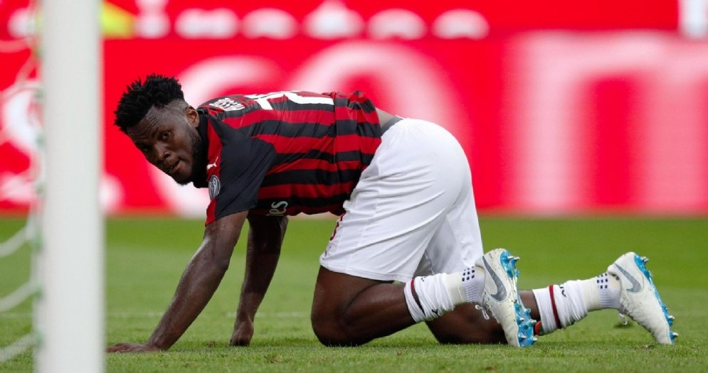 Franck Kessie, centrocampista ivoriano del Milan