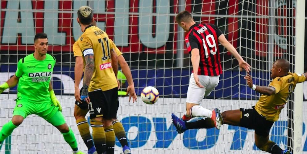 Un'Udinese spavalda strappa un punto al Milan