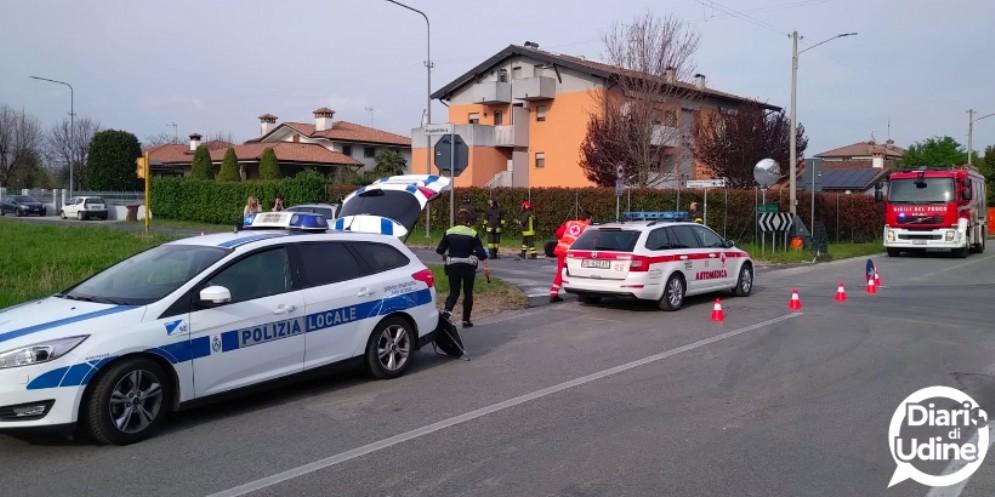 Scontro auto-motociclo in via Don Bosco: ferito un 58enne