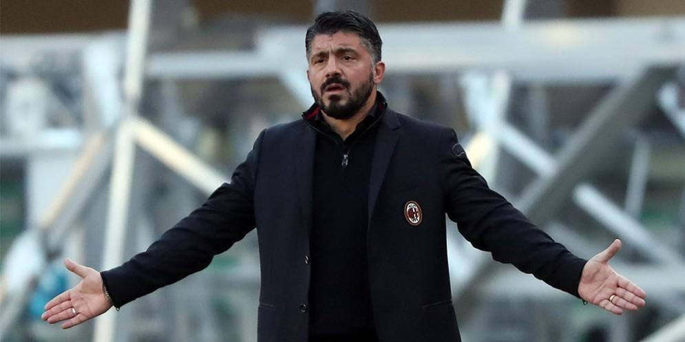 Gennaro Gattuso, allenatore del Milan da novembre 2017