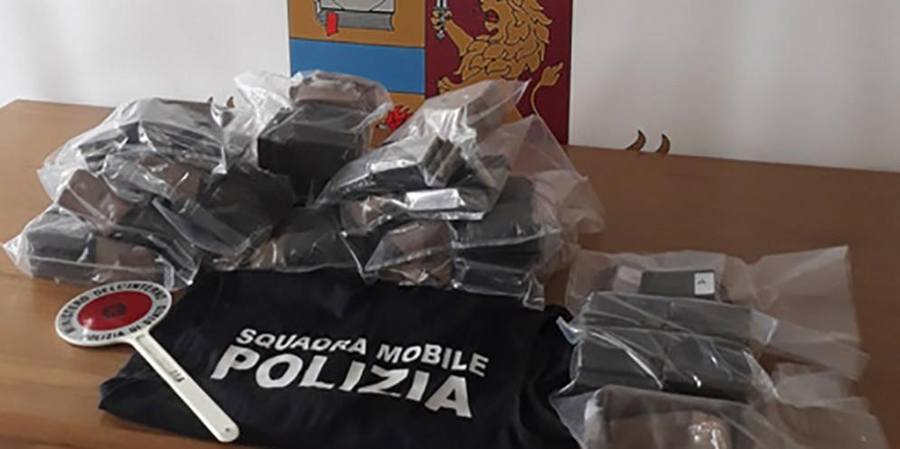 Borgo Stazione: migranti trovati con 15 kg di droga