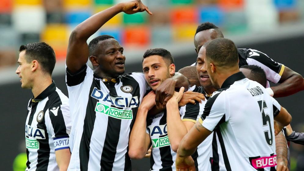L'Udinese reagisce e batte l'Empoli dopo un doppio svantaggio