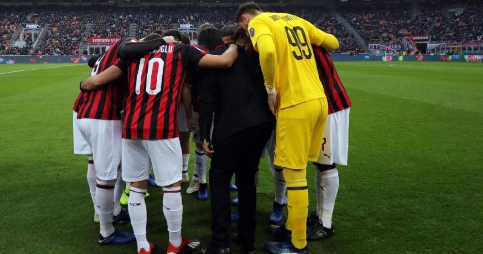Il Milan di Gattuso è in piena lotta per la qualificazione alla prossima Coppa dei Campioni
