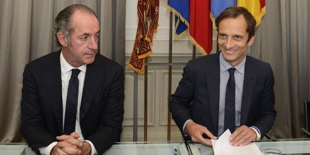 Luca Zaia e Massimiliano Fedriga