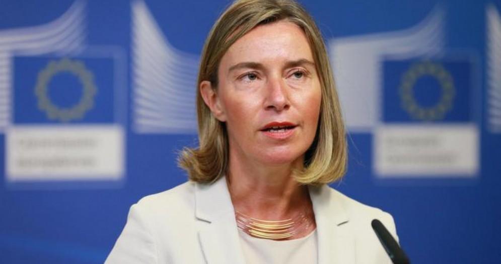L'Alto Rappresentante per la Politica estera e di sicurezza comune (Pesc), Federica Mogherini