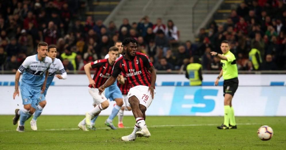 Il rigore di Kessiè che regala la vittoria al Milan