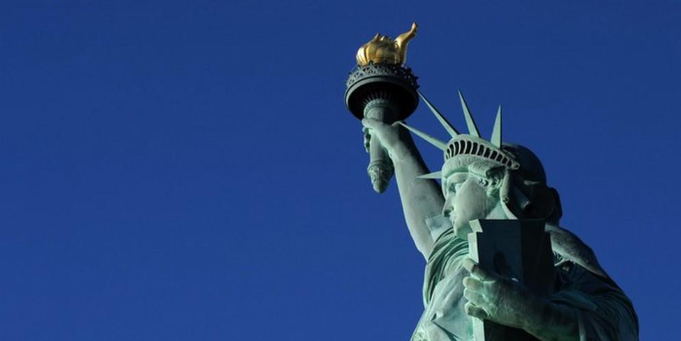 La statua della Libertà a New York