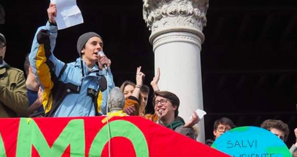 Greta Thunberg arriva in Italia: con lei ci sarà anche il friulano Aran Cosentino