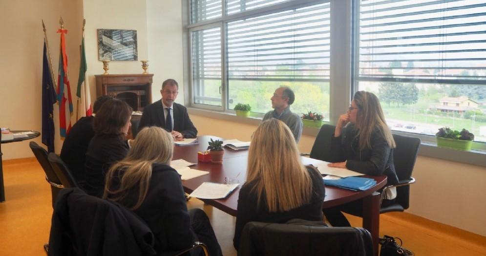 La conferenza stampa di presentazione del nuovo piano di investimenti dell'Asl di Biella
