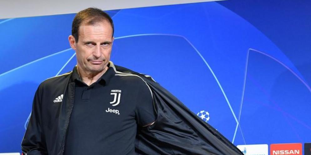 Il tecnico della Juventus, Massimiliano Allegri