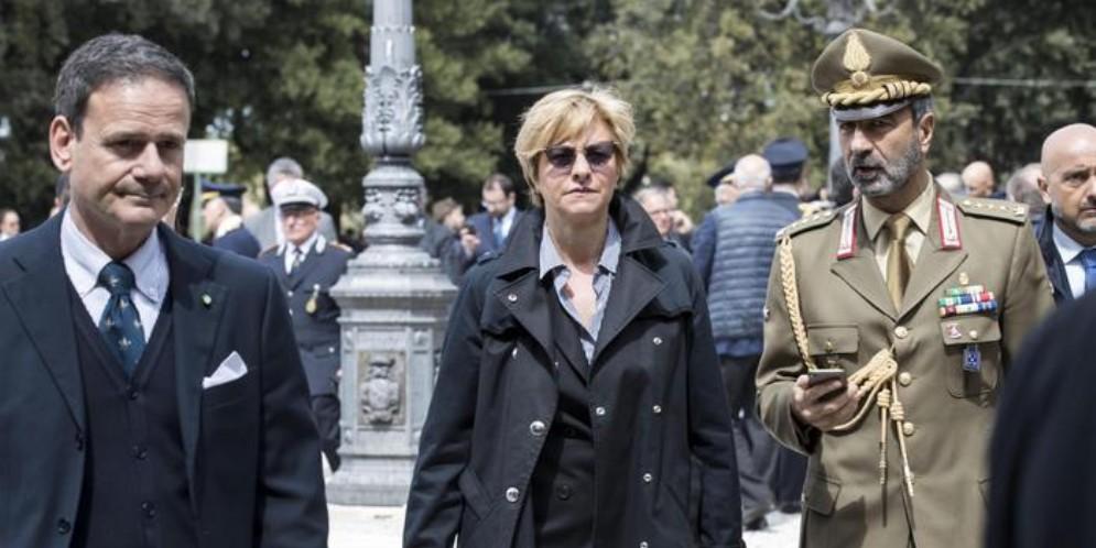 L'ex Ministro della Difesa, Roberta Pinotti