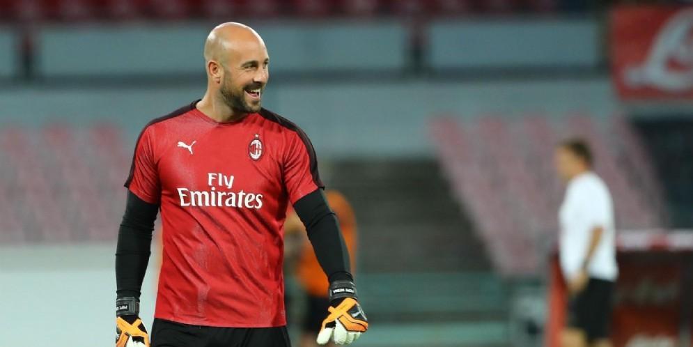 Pepe Reina, prima stagione al Milan