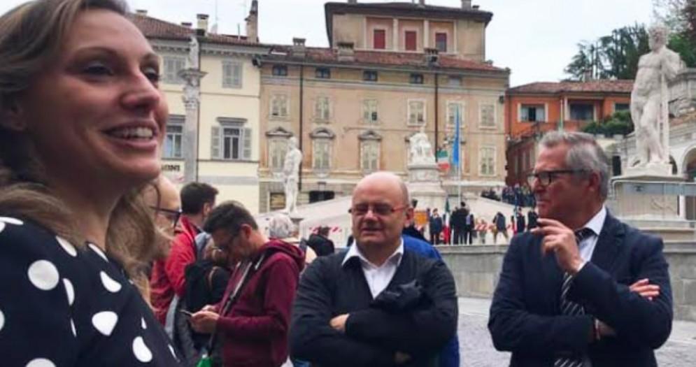 Manzan:«Inopportuni i fischi al sindaco Fontanini»
