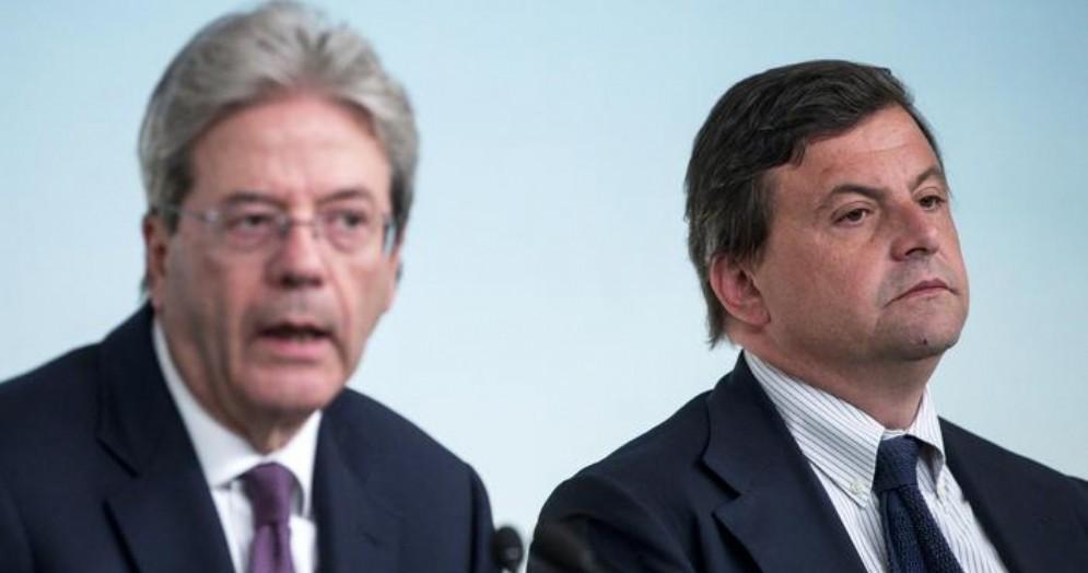 Paolo Gentiloni e Carlo Calenda