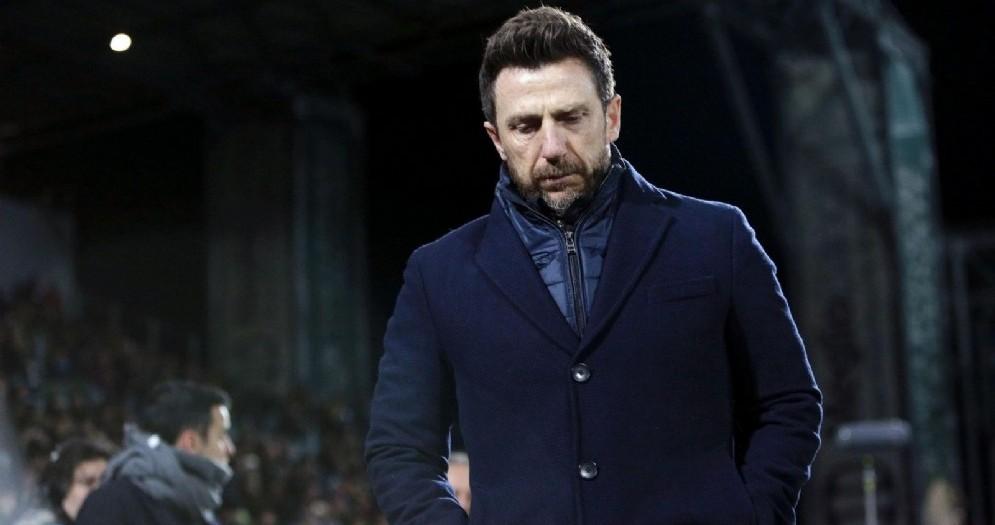 Eusebio Di Francesco è uno dei papabili per la panchina del Milan per il prossimo anno