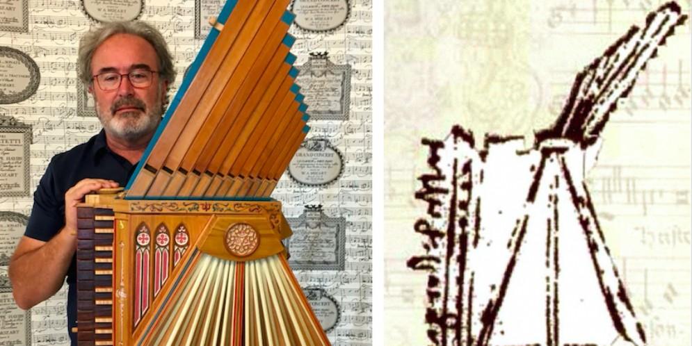 La fisarmonica di Leonardo riprodotta (e suonata) da un friulano