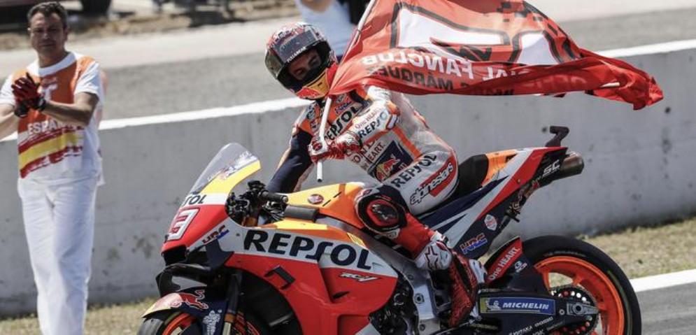 Marc Marquez trionfa a Jerez