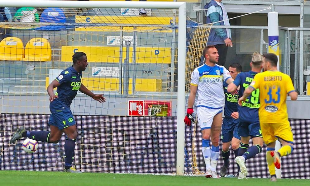 L'Udinese batte il Frosinone e supera il Genoa in classifica