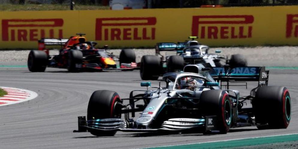 Lewis Hamilton vincitore del GP di Spagna 2019