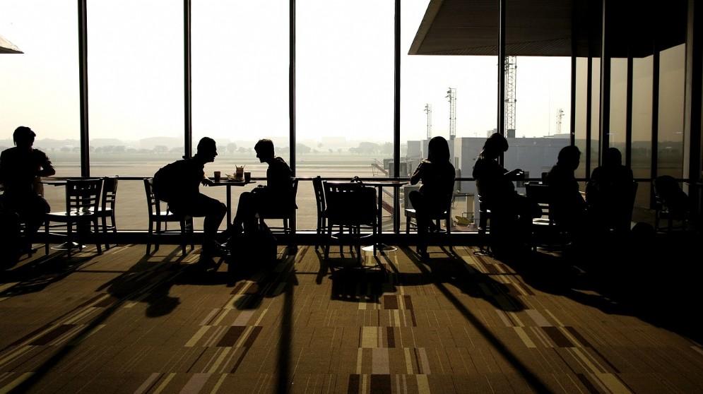Sala d'attesa aeroporto