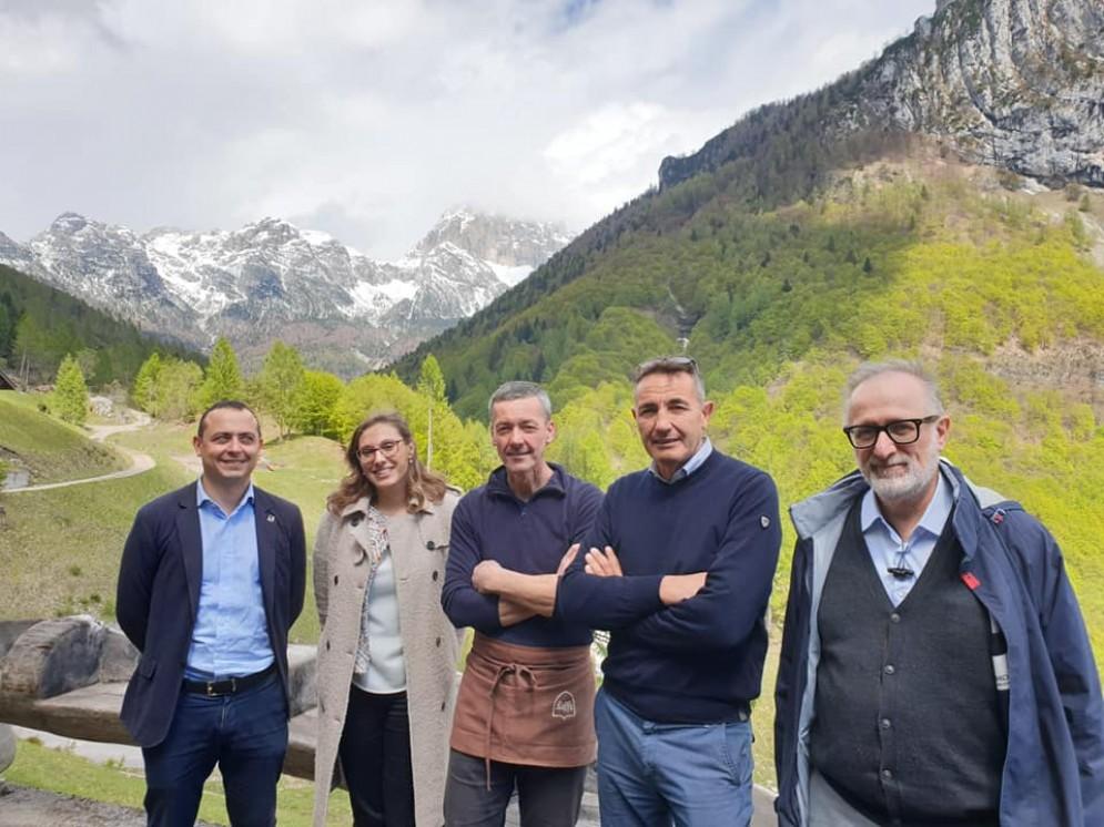 Manzan: «L'Europa deve occuparsi dello sviluppo della Valcellina»