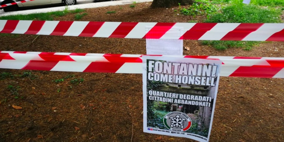 CasaPound attacca Fontanini: «Città abbandonata al degrado»