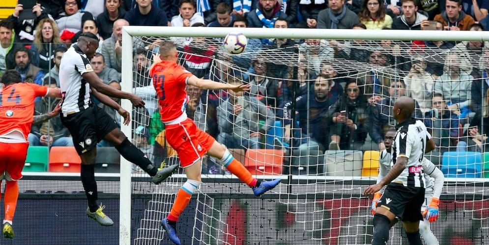 L'Udinese domina, soffre ma poi vince: Spal battuta 3 a 2