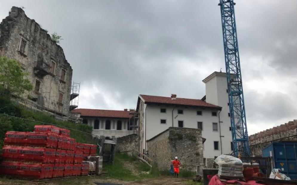 Castello di Colloredo di Monte Albano: primo lotto quai completato