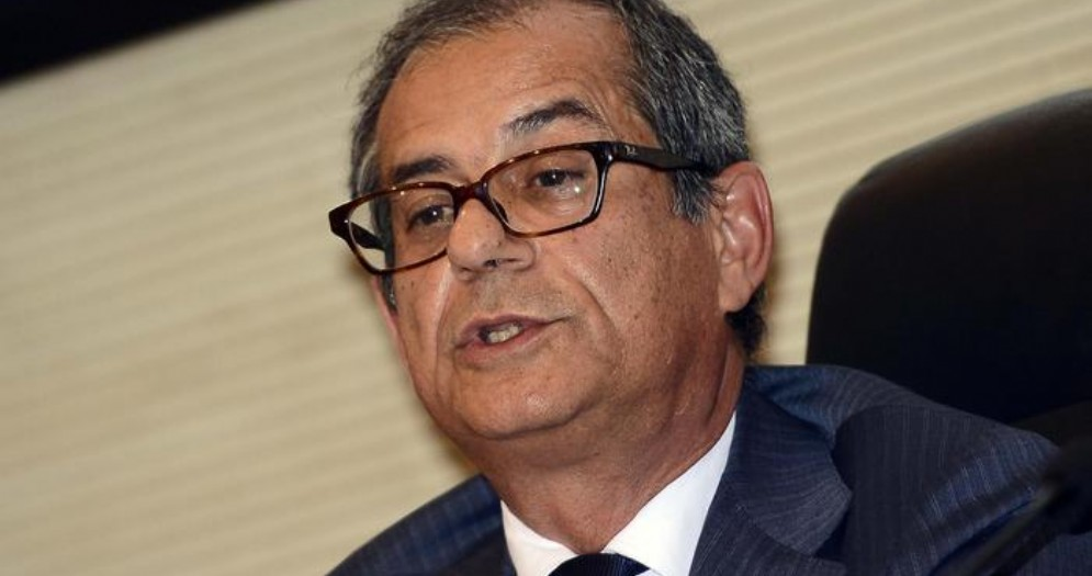 Il Ministro delle Finanze, Giovanni Tria