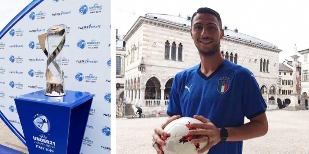 La Coppa dell'Europeo Uefa Under 21 arriva a Udine