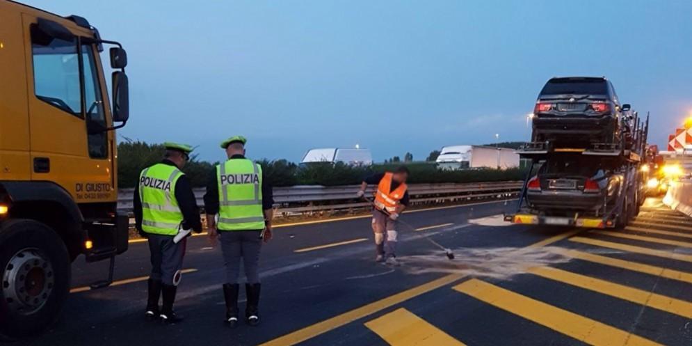 Gravissimo incidente sull'A4: ci sono due vittime