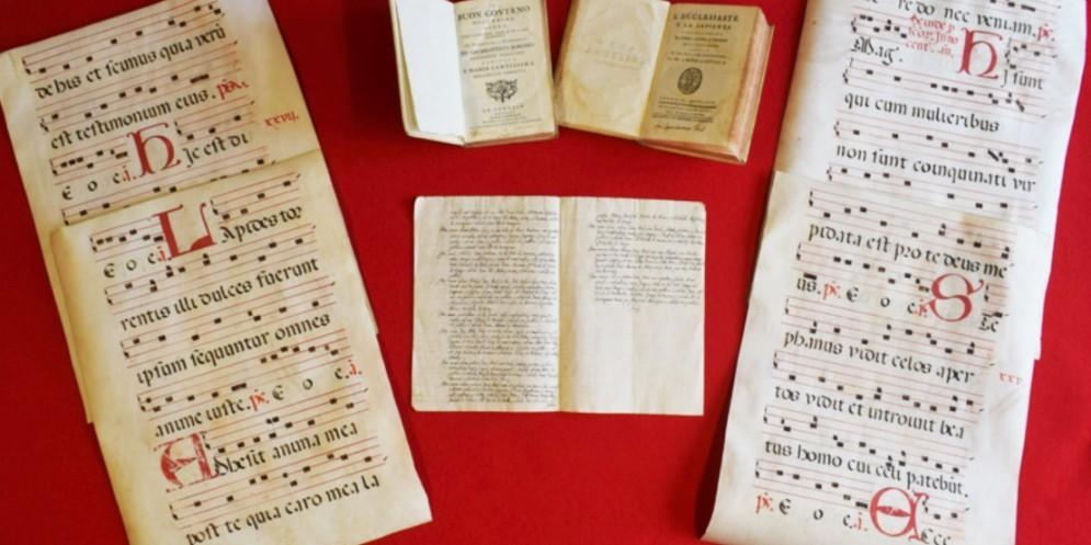 Recuperati dai carabinieri due manoscritti di fine 1700