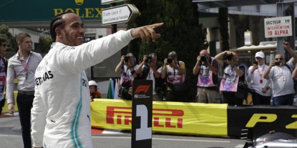 Lewis Hamilton vince anche il GP di Montecarlo 2019