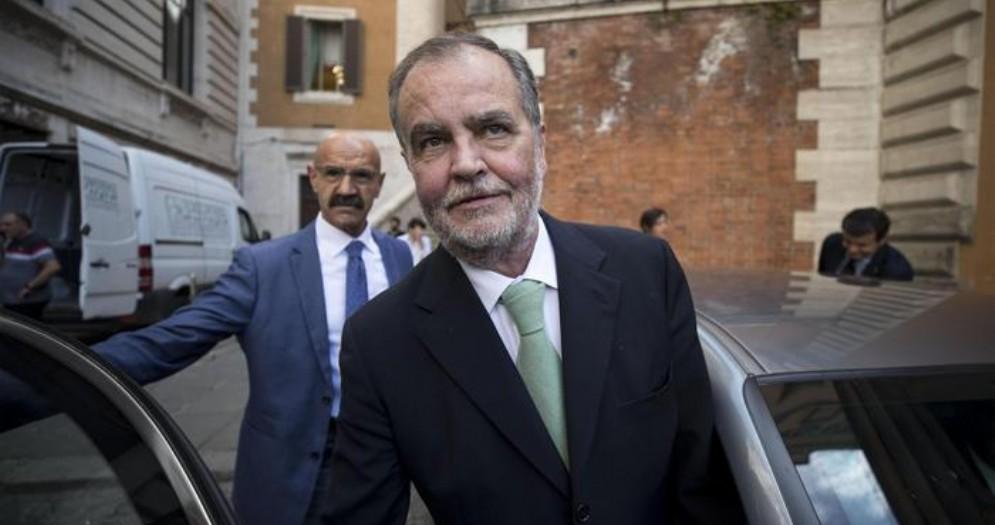 Il Senatore della Lega, Roberto Calderoli