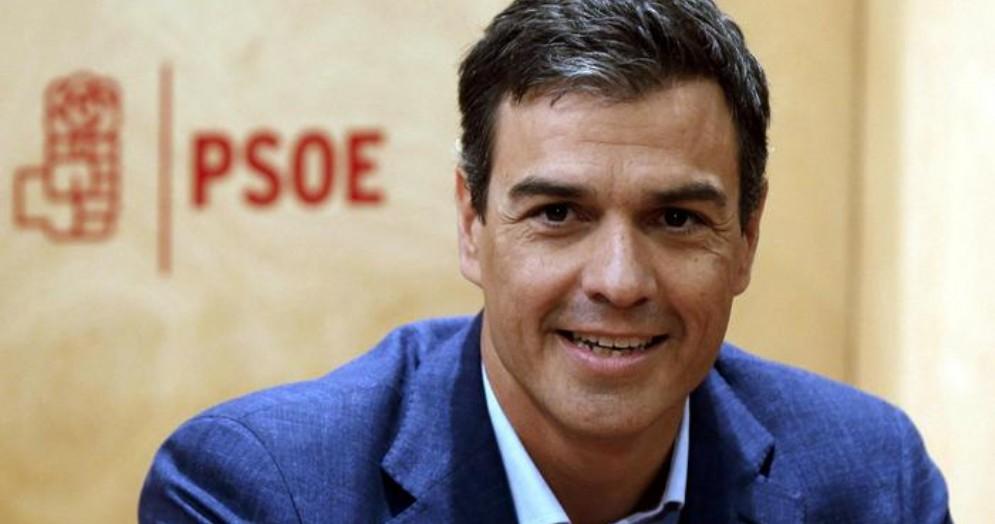 Pedro Sanchez, leader socialista spagnolo