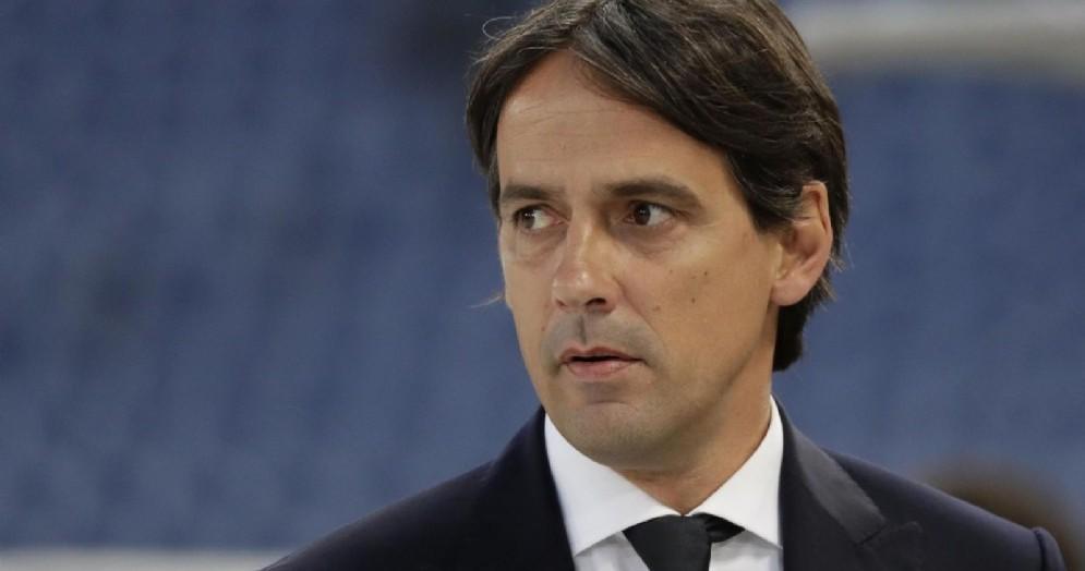 Simone Inzaghi, allenatore della Lazio e candidato alla panchina del Milan