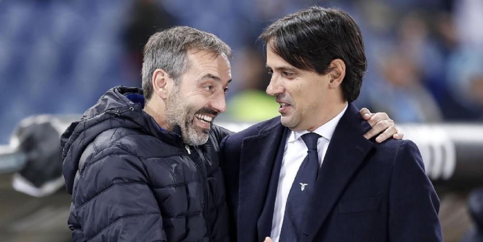 Marco Giampaolo e Simone Inzaghi, due probabili protagonisti della girandola estiva delle panchine italiane