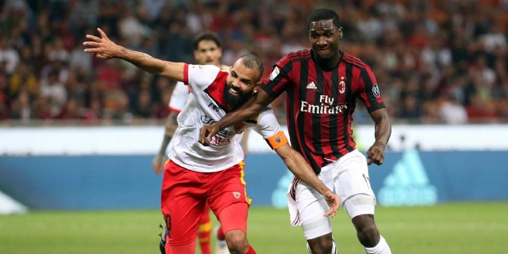 Cristian Zapata ha giocato nel Milan dall'estate 2012