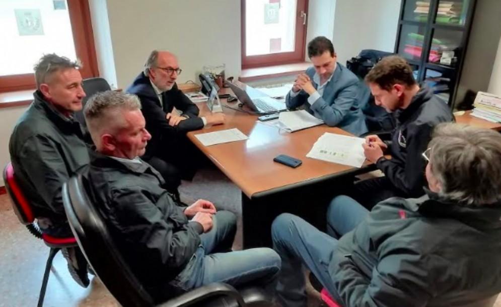Protezione civile, Riccardi: «Buon avanzamento dei progetti in Valcellina»