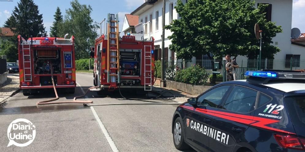 Scoppio in via Mantova: sul posto vigili del fuoco e carabinieri