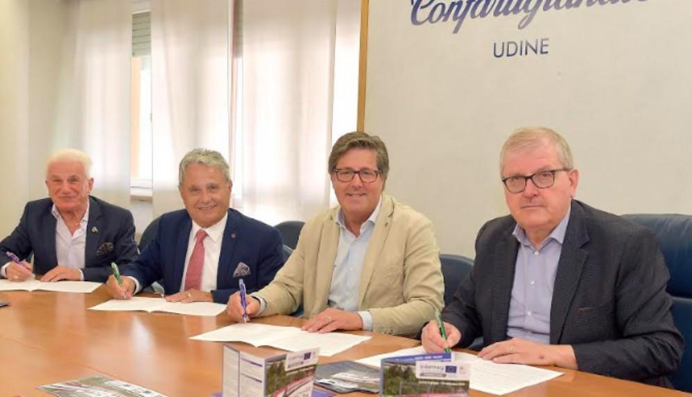 Patto per promuovere la mobilità dolce sulla linea Udine-Cividale e Udine-Tarvisio